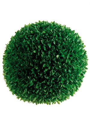 "11"" Extra Large Boxwood Ball Green"