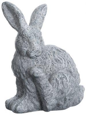"""14"""" Bunny Antique Gray"""