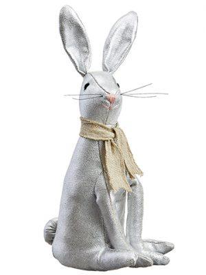 """13"""" Bunny Silver"""