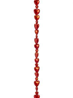 "68"" Heart Garland Red"