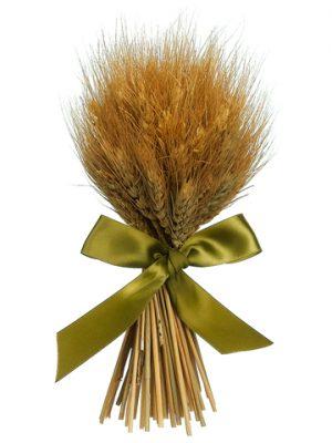 "9.8"" Preserved Wheat/GrassStanding BouquetNatural"