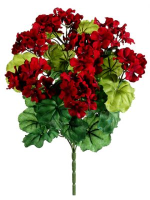 "17.5"" Geranium BusH x 7 Red"