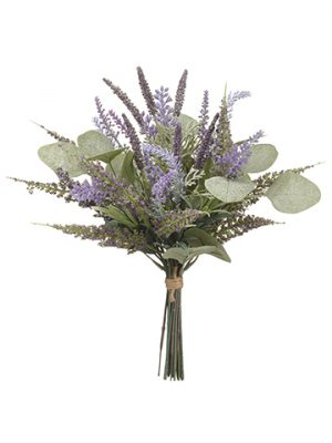 "13.5"" Lavender/EucalyptusBouquetLavender Green"