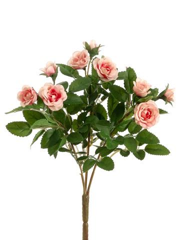 """10"""" Mini Rose BusH x 3 Pink"""