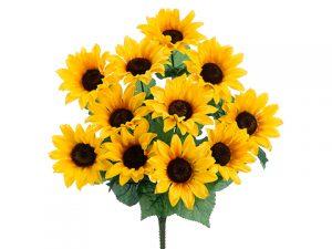 """19"""" Sunflower BusH x 11 Yellow"""