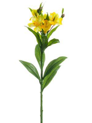 "25"" Alstroemeria Spray Yellow Gold"