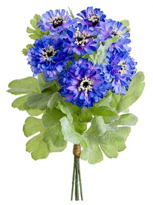 "10"" Cornflower Bundle x6 Purple Lavender"