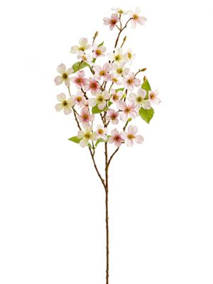 "31"" Mini Dogwood Spray Pink Cream"