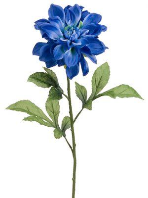 "29"" Dahlia Spray Two Tone Blue"