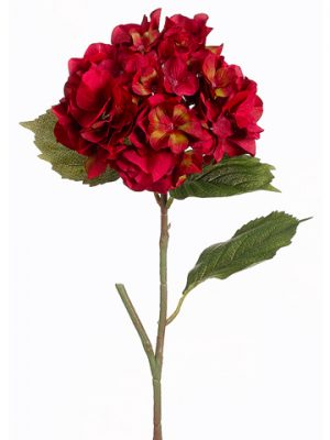 "23"" Hydrangea Spray Red"