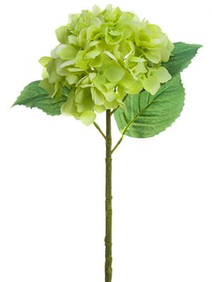 "19"" Real Touch Hydrangea Spray Green"