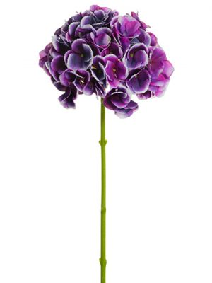 "19"" Hydrangea Spray Orchid Purple"