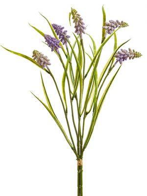 "17"" Muscari Bundle Lavender"