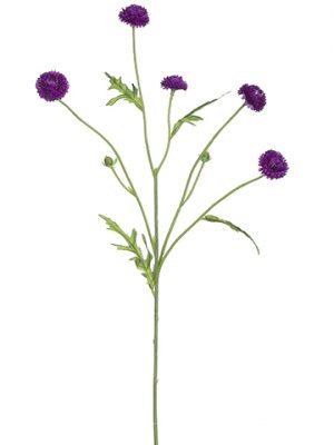 """23.5"""" Wild Pompom Spray Violet"""