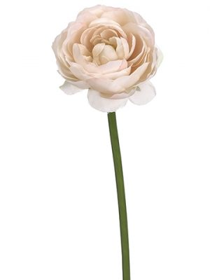 "19"" Ranunculus Spray Soft Pink"