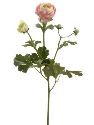 "22"" Ranunculus Spray Pink"