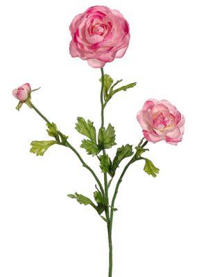 """27"""" Ranunculus Spray x3 Two Tone Lilac"""