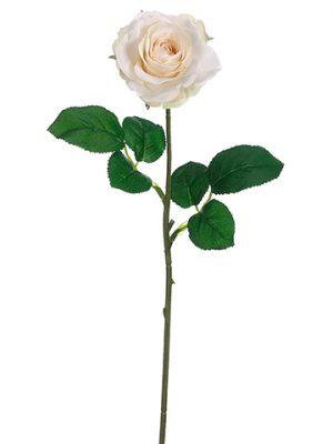 "17"" Small Tea Rose Spray Beige"