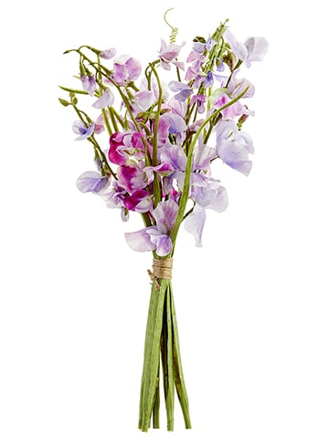 "17"" Sweetpea Bundle Lavender Boysenberry"