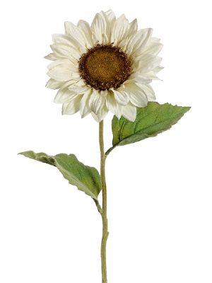 """24"""" Sunflower Spray Cream"""