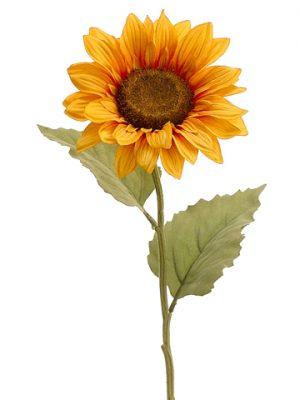 """24"""" Sunflower Spray Yellow"""