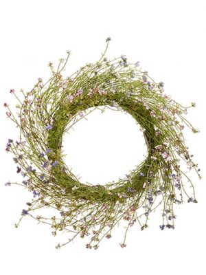 "26"" Phlox Wreath Pink Lavender"