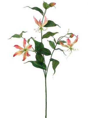 "34"" Gloriosa Spray Pink Yellow"