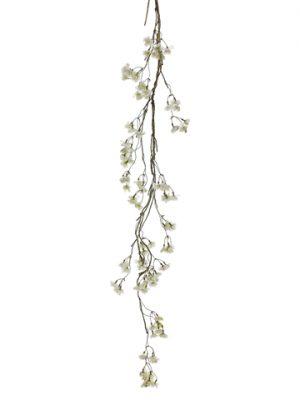 "63"" Cherry Blossom HangingSprayWhite"