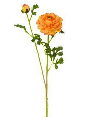 """28"""" Ranunculus Spray Orange"""