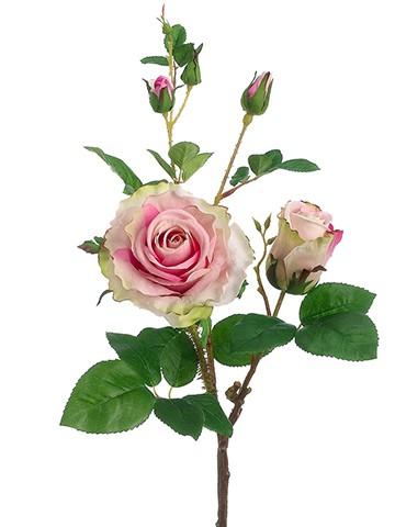 """19"""" Rose Spray Rose Pink"""