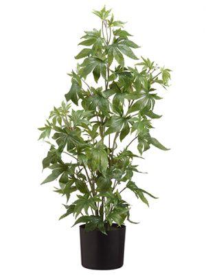 "37"" Artificial Marijuana Plant in Pot Green"