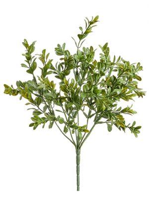 "12.9"" Mini Boxwood Bush Green"