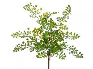 "15"" Lace Fern Bush Green"