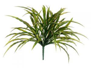 "13"" Grass Bush Green Burgundy"