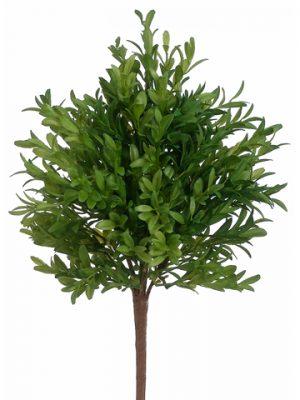 """15"""" Tea Leaf Bush Green"""