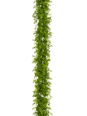 6' UV Protected Soft PEEucalyptus GarlandGreen