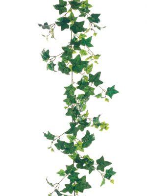 6' Needlepoint Ivy Garlandwith 190 LeavesGreen