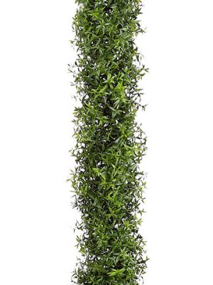 "70.5"" Plastic Eucalyptus Garland with 648 Leaves Green"