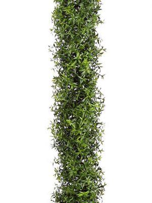 "70.5"" Plastic EucalyptusGarland with 648 LeavesGreen"