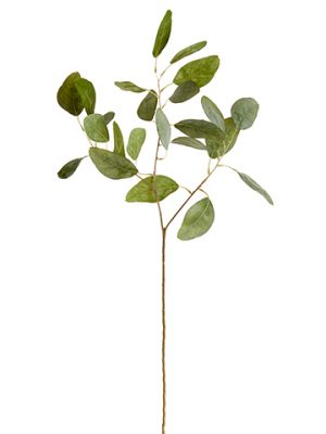 "24"" Eucalyptus Leaf Spray Green"