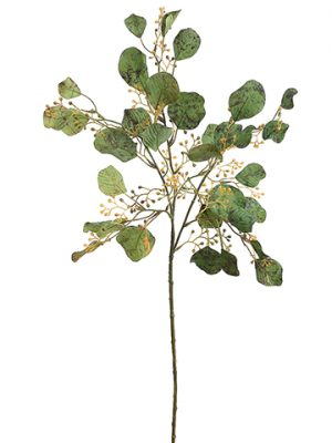 "27"" Eucalyptus Spray x3 with 33 Leaves Green"