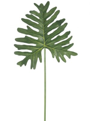 """29"""" Extra Philodendron LeafSprayGreen"""