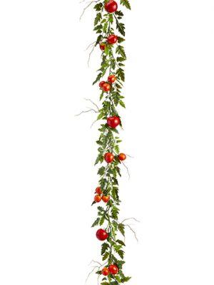 6' Tomato Garland Red