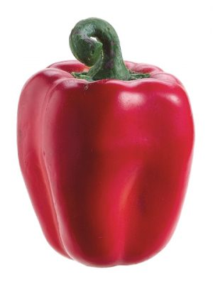 """3.5"""" Weighted Bell Pepper Red"""