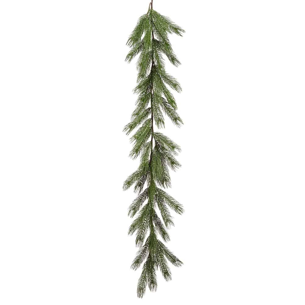 6' Pine Garland Green
