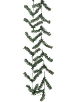 10' Pine Work Garland x44 Green