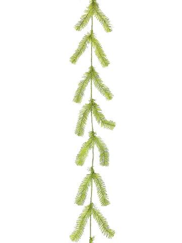 10' Pine Work Garland x44 Lime Green