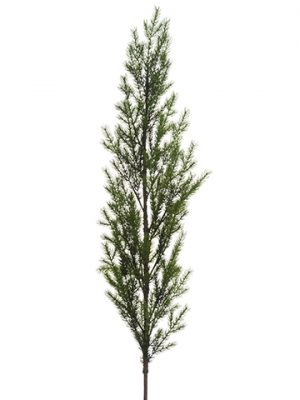 "51"" PE Pine Topiary Stem Green"