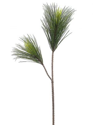 "45"" Long Needle Pine Spray x2 Green"
