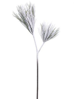 "38.5"" Snowed Long Needle PineSpray x2Green Snow"